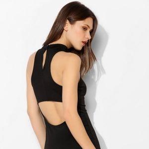 ‼️Sparkle&Fade Mock-Neck Sleeveless Bodycon Dress
